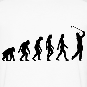 Evolution Golf (1c) T-Shirts - Men's Premium Long Sleeve T-Shirt