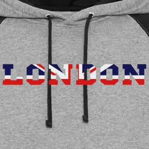 london T-Shirts - Colorblock Hoodie