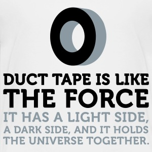 Duct Tape The Force (2c) Kids' Shirts - Toddler Premium T-Shirt