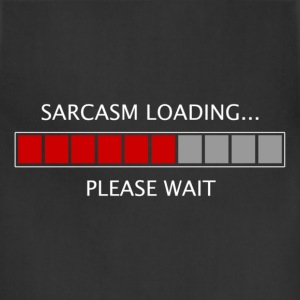 Sarcasm Loading T-Shirts - Adjustable Apron