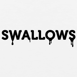 Swallows (1c) Hoodies - Men's Premium Tank