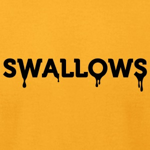 Swallows (1c) Bags  - Men's T-Shirt by American Apparel