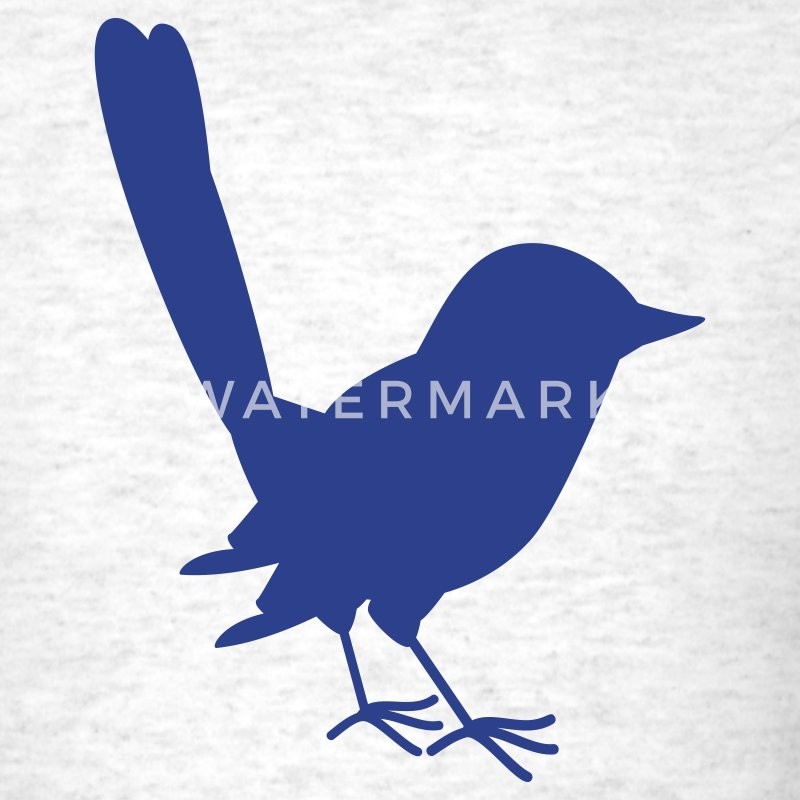 little blue fairy wren T-Shirts - Men's T-Shirt