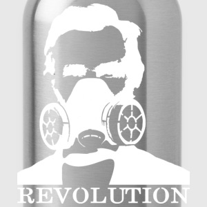 Revolution - Abe & Gas Mask - Water Bottle