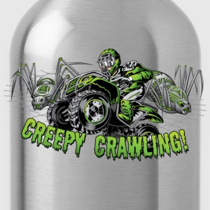 Creepy Crawling ATV Kids' Shirts - Water Bottle