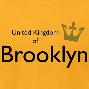 United Kingdom of Brooklyn Bags  - Men's T-Shirt by American Apparel