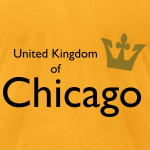 United Kingdom of Chicago Bags  - Men's T-Shirt by American Apparel