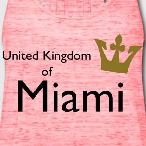 United Kingdom of Miami Bags  - Women's Flowy Tank Top by Bella