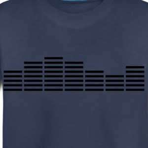 Equalizer Frequency DJ Sound Equalizer Frequency DJ Sound Music Beat Pop Techno discjockey record club electronica danceMusic Beat Pop Techno Kids' Shirts - Toddler Premium T-Shirt