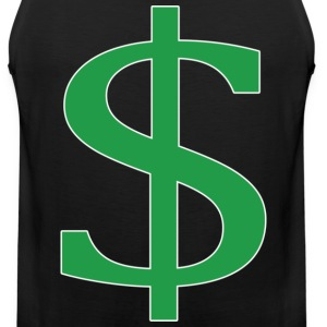 dollar sign T-Shirts - Men's Premium Tank