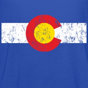 Vintage Colorado Shirt - Women's Flowy Tank Top by Bella