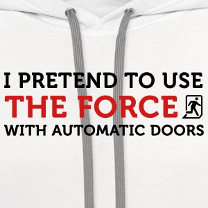 The Force Automatic Doors 2 (2c) Polo Shirts - Contrast Hoodie