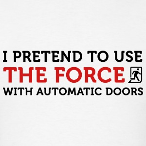 The Force Automatic Doors 2 (2c) Polo Shirts - Men's T-Shirt