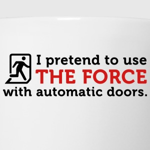 The Force Automatic Doors (2c) Polo Shirts - Coffee/Tea Mug