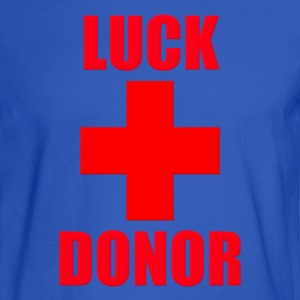 Luck Donor Hoodies - Men's Long Sleeve T-Shirt