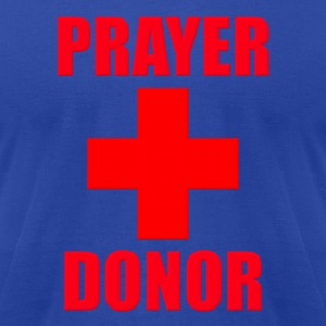 Prayer Donor Hoodies - Men's T-Shirt by American Apparel