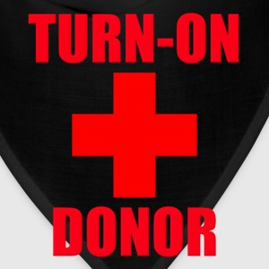 Turn-On Donor Hoodies - Bandana