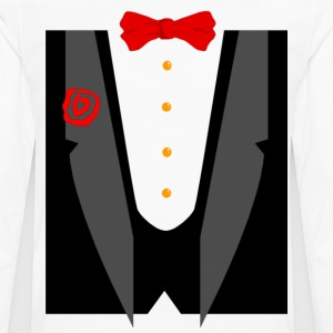 Tux and Tie - Men's Premium Long Sleeve T-Shirt