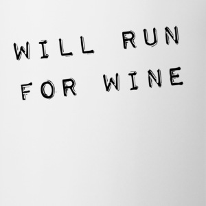 will run for wine Tanks - Coffee/Tea Mug