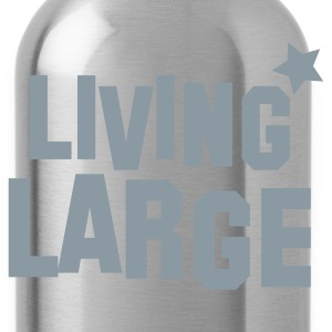 living large Zip Hoodies/Jackets - Water Bottle