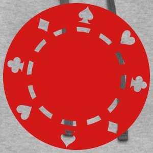Poker chips T-Shirts - Contrast Hoodie