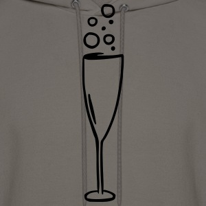 Champagne glass T-Shirts - Men's Hoodie