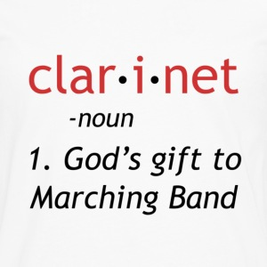 Definition of Clarinet - Men's Premium Long Sleeve T-Shirt