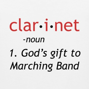 Definition of Clarinet - Men's Premium Tank