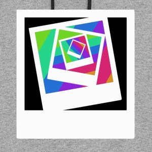 polaroid  in colour Women's T-Shirts - Colorblock Hoodie