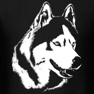 Husky T-shirt Siberian Husky Shirts Women's  - Men's T-Shirt