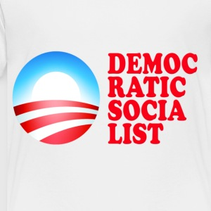 Obama Democratic Socialist Kids' Shirts - Toddler Premium T-Shirt
