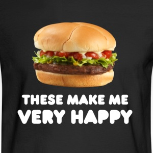 Women's Burger Tee - Men's Long Sleeve T-Shirt