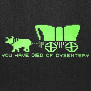 dysentery (for dark bkg) T-Shirts - Tote Bag