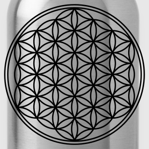 FLOWER OF LIFE - vector | unisex tie dye shirt - Water Bottle