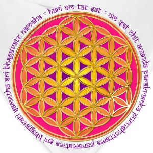 FLOWER OF LIFE - Moola Mantra | women's long sleev - Bandana