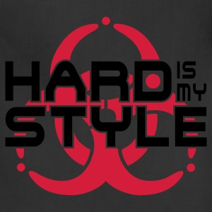 HARD IS MY STYLE - hardstyle vector | women's long - Adjustable Apron