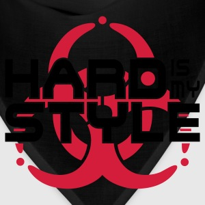 HARD IS MY STYLE - hardstyle vector | children's h - Bandana