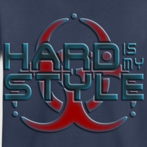 HARD IS MY STYLE - hardstyle pixel | children's sh - Toddler Premium T-Shirt