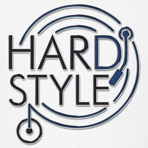 HARDSTYLE DJ - metal look | large buttons - Men's T-Shirt