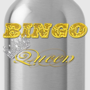 bingo queen crown gold styles T-Shirts - Water Bottle