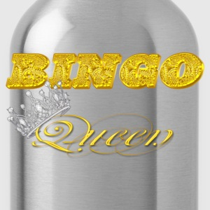 bingo queen crown gold brick styles T-Shirts - Water Bottle