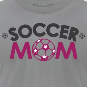 Soccer Mom Long Sleeve Shirts - Men's T-Shirt by American Apparel