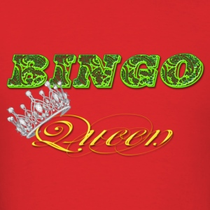bingo queen crown green styles Hoodies - Men's T-Shirt