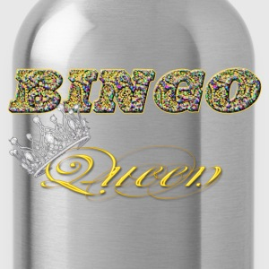 bingo queen crown styles Long Sleeve Shirts - Water Bottle