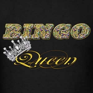 bingo queen crown styles Hoodies - Men's T-Shirt