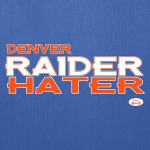 denver_raider_hater Women's T-Shirts - Tote Bag