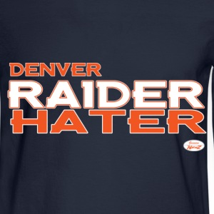 denver_raider_hater T-Shirts - Men's Long Sleeve T-Shirt