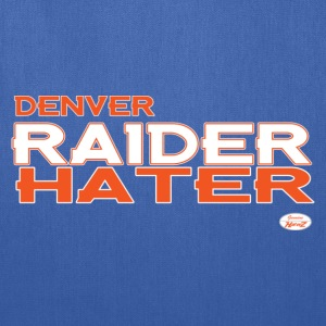 denver_raider_hater T-Shirts - Tote Bag