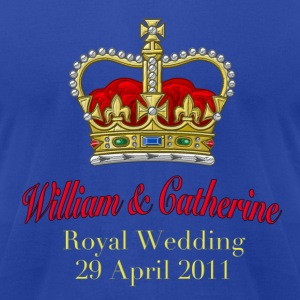 Royal Wedding William & Catherine 29 April 2011 Hoodies - Men's T-Shirt by American Apparel