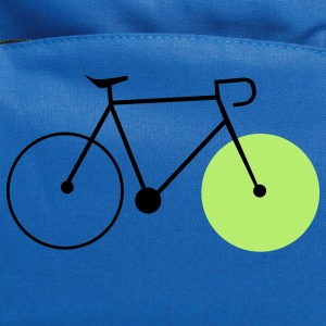 bike fahrrad fixie bike Kids' Shirts - Computer Backpack